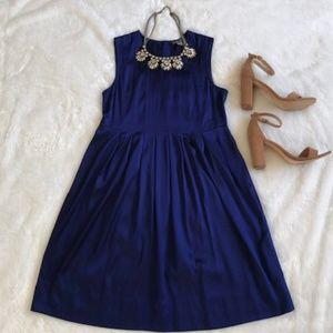 Stunning Blue Silk Vince Dress EUC